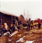 kattotalkoot syksylla 1972
